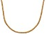 Bella Luce® 20.02ctw Champagne Diamond Simulant 18k Gold Over Silver Necklace