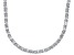 Bella Luce® 46.72ctw Oval Diamond Simulant Rhodium Over Silver Tennis Necklace