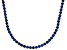 Bella Luce® 61.77ctw Round Tanzanite Simulant 18k Gold Over Silver Necklace