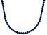 Bella Luce® 61.77ctw Round Tanzanite Simulant 18k Gold Over Silver Necklace