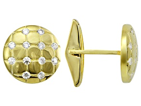 Bella Luce 18k Yellow Gold Over Sterling Silver Cufflinks