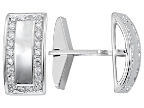 Bella Luce Rhodium Over Sterling Silver Cufflinks