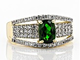 Green Chrome Diopside 10k Gold Ring 1.14ctw