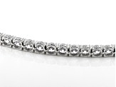White Cubic Zirconia Rhodium Over Sterling Silver Bracelet 27.65ctw