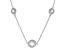 Cubic Zirconia Silver Necklace 33.28ctw (22.96ctw DEW)