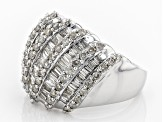 White Diamond 10k White Gold Ring 2.00ctw