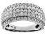 White Diamond 10k White Gold Ring 1.50ctw