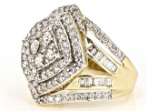 Candlelight Diamonds™ And White Diamond 10k Yellow Gold Ring 2.00ctw