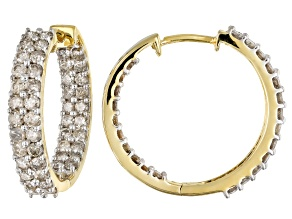 Candlelight Diamonds™ 10k Yellow Gold Earrings 1.90ctw