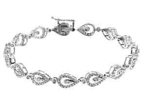 White Diamond 10k White Gold bracelet 1.50ctw