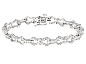 White Diamond 14k White Gold bracelet 2.25ctw