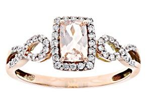 Cor-De-Rosa Morganite™ 10k Rose Gold Ring .65ctw
