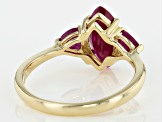 Red Ruby 14k Yellow Gold Ring 1.85ctw