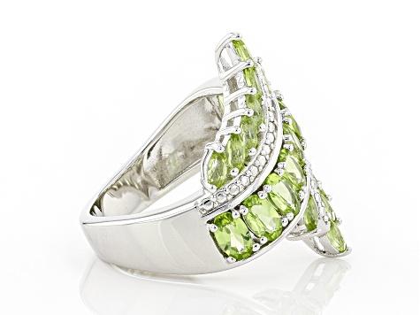 Necklace 18\u201d Cleansing\u201d  Antique Brass Wire Green Calcite \u201cLove Goodwill