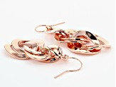 Timna Jewelry Collection™ Copper Link Dangle Earrings.