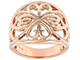 Copper Filigree Band Ring
