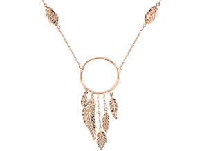 Copper Dream Catcher Design Necklace