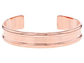 Copper Men's Cuff Bracelet