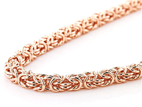 Copper Byzantine Chain Necklace