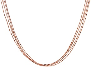 Copper Five-Strand Necklace