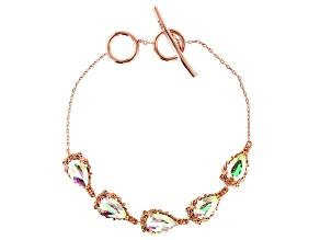 Zero Jupiter™ Quartz Copper Bracelet 5.91ctw