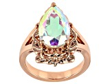 Zero Jupiter™ Quartz Copper Ring 3.91ct