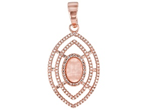 Rose Quartz Copper Enhancer 1.21ctw