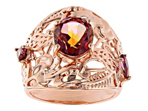 WhatIwant™ Quartz Copper Ring 2.50ctw