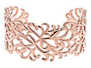Copper Filigree Cuff Bracelet