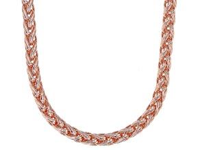 """28"""" Copper Spiga Chain Necklace"""