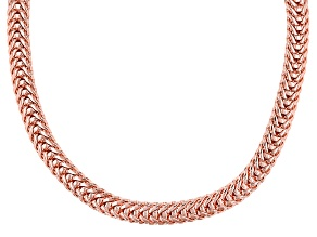 """28"""" Copper Flat FoxTail Link Chain"""