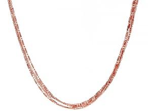 """30"""" Copper Five-Strand Necklace"""