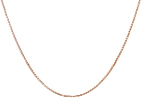 Copper Wheat Chain Necklace