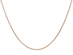 Copper Wheat Chain Necklace