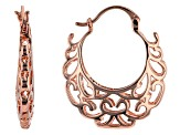 Timna Jewelry Collection™ Copper Hoop Earrings