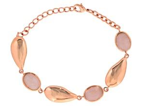 Copper Rose Quartz Bracelet