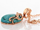 Turquoise Copper Enhancer With Chain