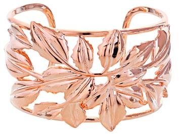 Picture of Copper Floral Cuff Bracelet