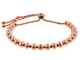 Copper Bead Sliding Adjustable Bracelet
