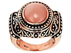 Copper Sunstone Ring