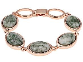 Copper Agate Bracelet