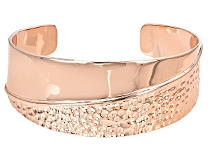 Copper Textured Bracelet