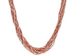 Copper Multi-Strand Necklace