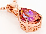 Whatiwant™ Mystic Quartz® Copper Enhancer With Chain 8.50ctw