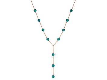 Picture of Turquoise Copper Station Necklace