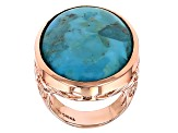 Turquoise Copper Ring