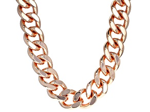 Copper Curb Link Necklace