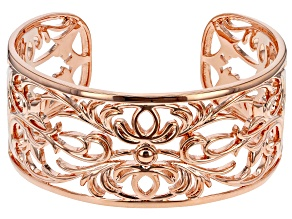 Copper Filigree Cuff Bracelet