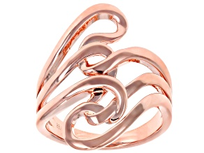 Copper Swirl Ring