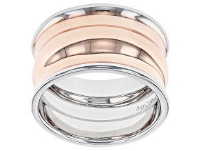 Two Tone Copper Band Ring